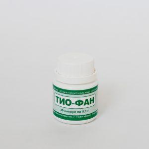 Тиофан, капсулы